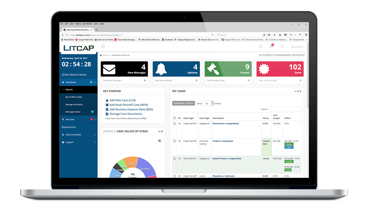 LitCap Application