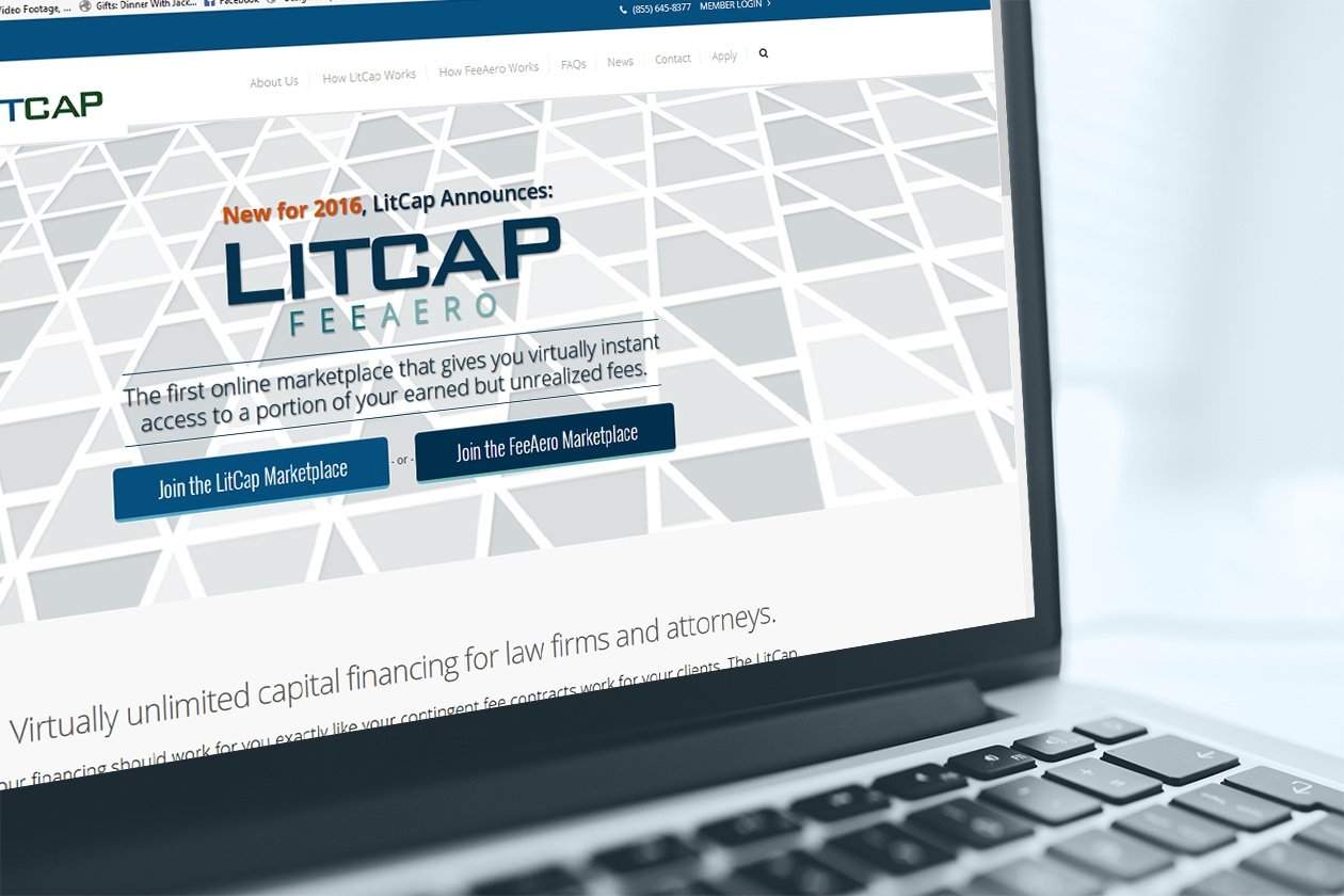 LitCap Marketing Website